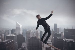 Walkng the Business Tightrope